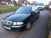 Rover 45 impression low miles 1 lady owner for the past 14 years