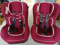 2 X Mothercare Car Seats