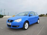 VW Polo 1.2 S 3 door Hatchback Full Service History 12 Months MOT Not Fiesta Mazda2 207 or Yaris