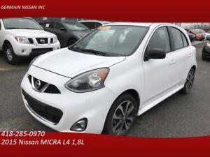 2015 Nissan MICRA SR-CAMÉRA-CRUISE-BLUETOOTH