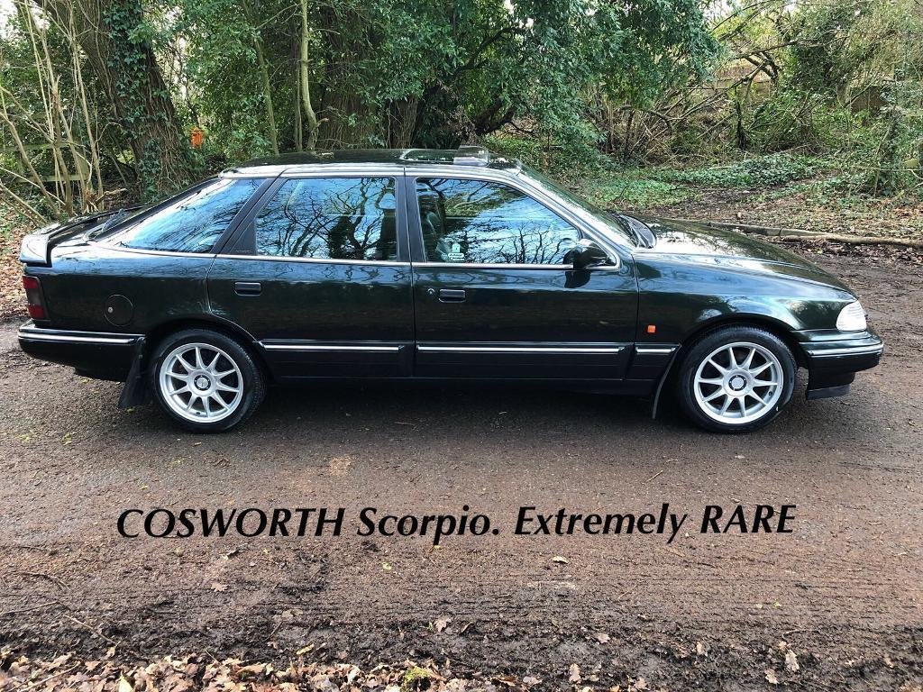cosworth ford scorpio mk 1 5 door very rare classic in. Black Bedroom Furniture Sets. Home Design Ideas