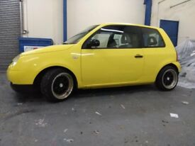 Lowered VW Lupo 1.0