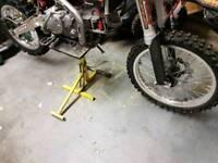 big pitbike big wheels 14 17 Kenda tyres broken hub