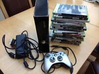 Xbox 360 slim 250gb +16 games
