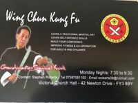 Traditional Wing Chun Kung Fu Lessons, Blackpool area
