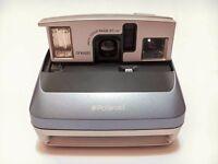 Polaroid One600 Instant Camera. Baby Blue. Nearly New
