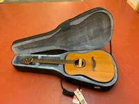 Lag Summer Acoustic Guitar and Case