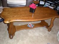 Coffee table, for sale. Size Length 52'' width 23'' height 20''