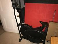 Carl Lewis Power Plate and Cross Trainer/Exercise Bike