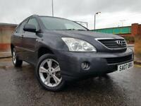 LEXUS RX400H HYBRID AUTOMATIC WITH NAVIGATION BLUETOOTH REVERSE CAMERA & LOTS MORE