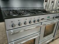 RangeMaster Toledo 110cm Wide Range Style Cooker With 5 Gas Hobs And Ovens £499