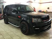 !!MUST SEE!! 2010 CONVERTED WIDE ARCH RANGE ROVER SPORT 2.7 TDV6 / 12 MONTHS MOT / FULLY SERVICED