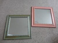mirrors in a wooden frames NEW
