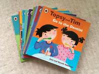 Set of 12 Topsy and Tim books
