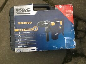 sds drill as new in box used once £30