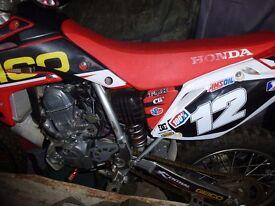 motocross bike crf 150