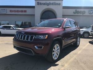 2017 Jeep Grand Cherokee Limited, Leather, Roof, Bluetooth, HEMI