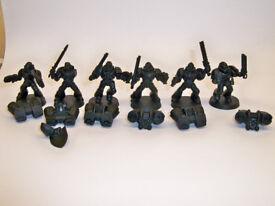 Warhammer Space Marine Assault Squad