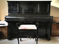 Antique Gors & Kallmann upright piano - free (except for the cost of removal)