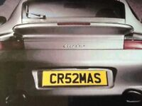 Number plate CR52MAS