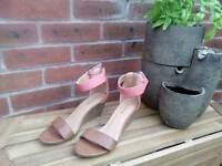 Brand New Ankle Strap Wedge Sandals size 4