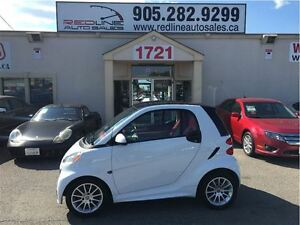 2013 smart fortwo passion, Red Interior, See Thru Roof, WE APPRO