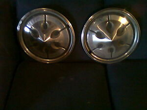 AMC HORNET WHEEL COVERS-circa 1972