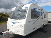 BAILEY PEGASUS RIMINI GT65 TOURING CARAVAN - 4 BERTH - 2013 - FIXED BED - COASTFIELDS GROUP - SALE