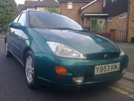 Ford Focus 1.8 Zetec, 2001/Y Reg, 95,000 Miles Only, M.O.T May 2019, 4 New Tyres