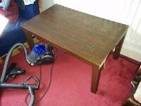 FREE dark brown coffee table