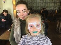 High quality Face Painter | Festival Glitter Artist