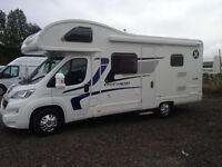 SORRY NOW SOLD ...2016 Swift Escape 696 six berth Motorhome