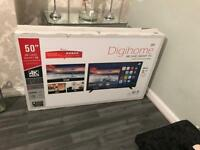 Digihome 50ich full Hd TV Brand New BOXED & SEALED