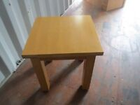 coffee table or occasional table sturdy