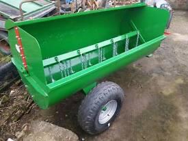 Brand new tractor belmac dung manure spreader