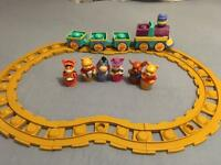 Winnie the Pooh train set