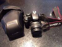 Canon EOS 1000D digital camera.