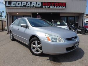 2004 Honda Accord EX-L,Leather,Sunroof,Heated Seats*No Accident*