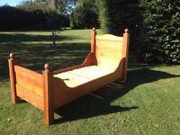 "Solid Pine 2'6"" Single Bed (Handmade)"