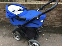 Evo Mutsy carrycot and stroller