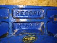 Vintage Record no 52 P clamp / vice