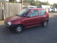 Red Fiat Seicento - 1 Owner - 27,000 miles, Petrol