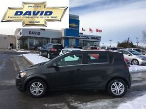 2016 Chevrolet Sonic 1LT 5DR, REMOTE START, HEATED SEATS!!!