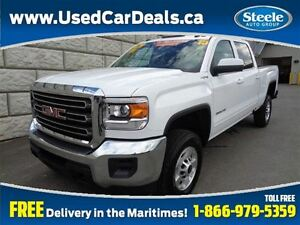 2015 GMC SIERRA 2500HD SLE 4X4 6.0L V8 Crew Cab Fully Equipped