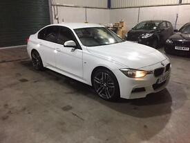 2015 Reg BMW 335d m sport Xdrive full red leather sat nav pristine guaranteed cheapest in country