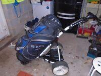 Motocaddy S1 Electric Golf Trolley Including Golf Bag