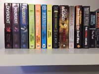 Crime and Mystery Novels plus The Divergent and The Mazerunner series