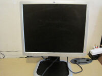 HP 19 inch LCD monitor. can deliver