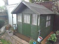Cildrens wooden playhouse & Kitchen accessories NOW SOLD