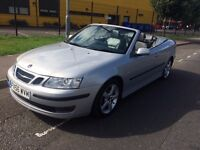 SAAB 9-3 2.0 AUTOMATIC CONVERTIBLE LOW MILEAGE HEATED LEATHERS FULL HISTORY NEW MOT 1 FORMER OWNER